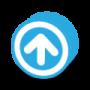 button-round-dark-arrow-up-icon